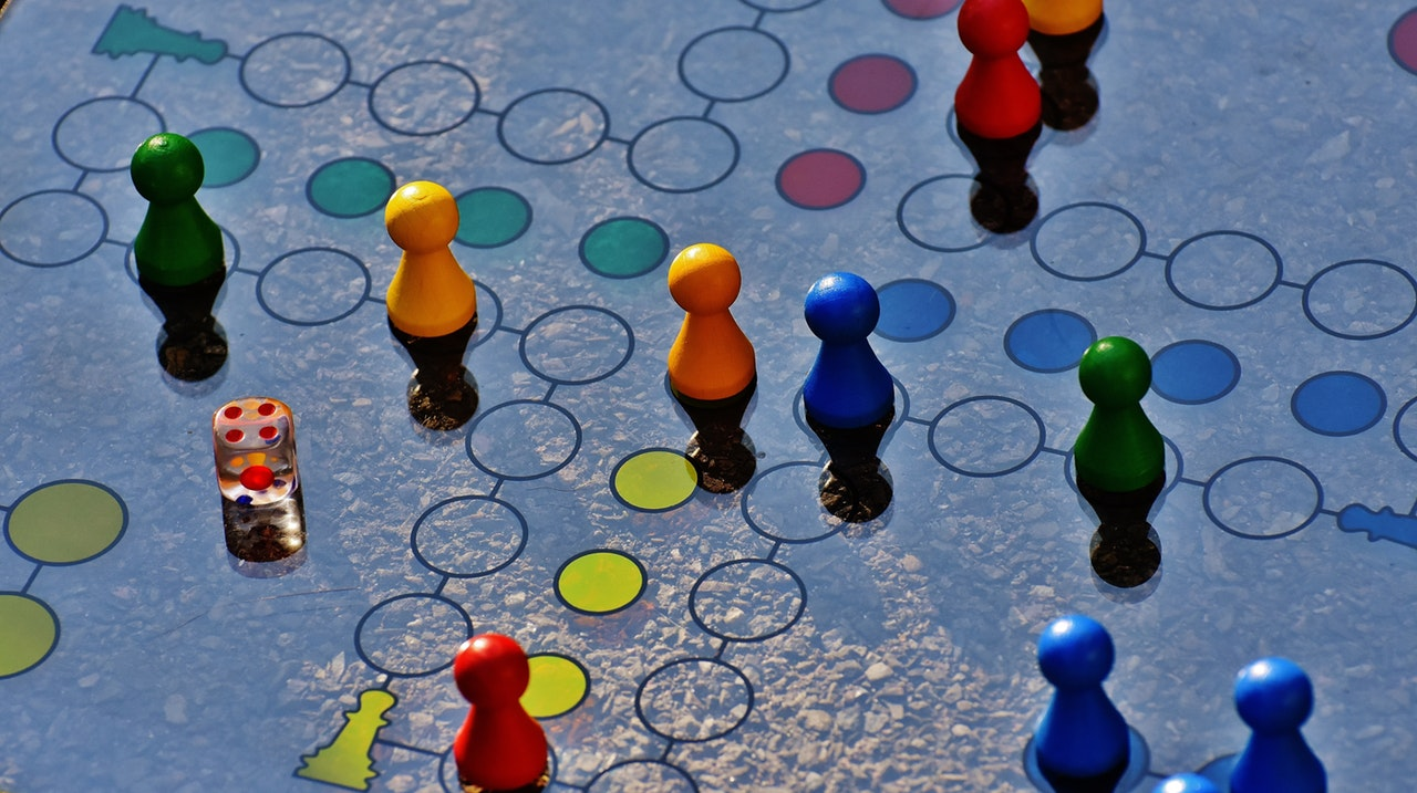 Blue And Yellow Board Game 207924