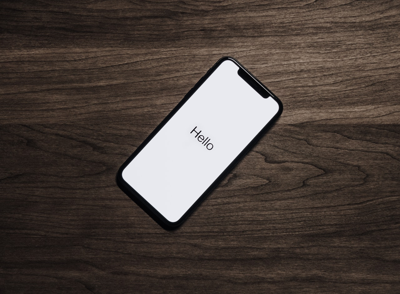 Black Iphone 7 On Brown Table 699122