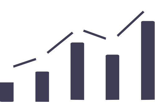 Bar And Line Graph Growth