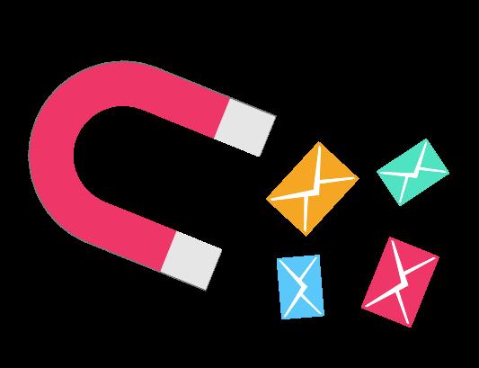 Capture Emails Magent Icon
