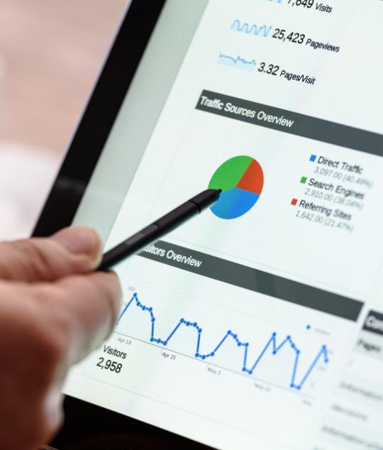 Google Analytics Traffic Dashboard 1
