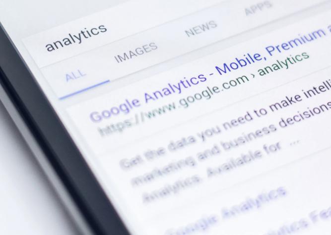 Google Analytics Website Visitor Data