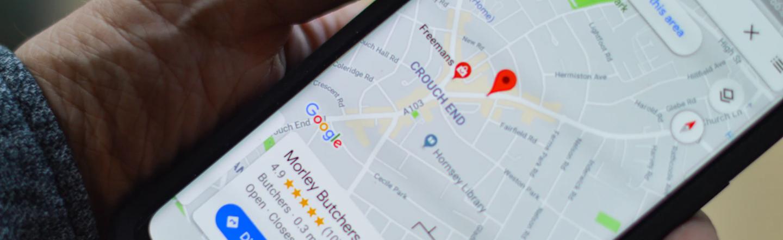 Local SEO Google Map Visuals